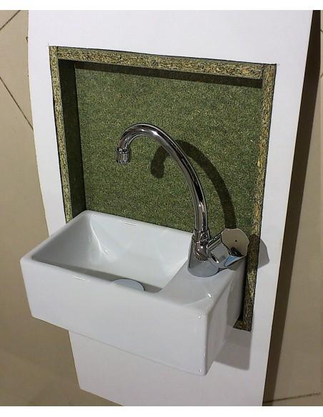Kit de semi-encastrement pour lave-main compact - article sur mesure (ni repris, ni échangé)