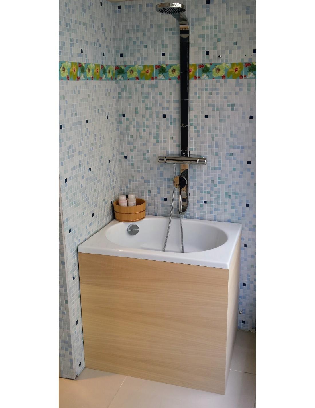 Baignoire japonaise baignoire de massage acrylique for Prix baignoire en pierre